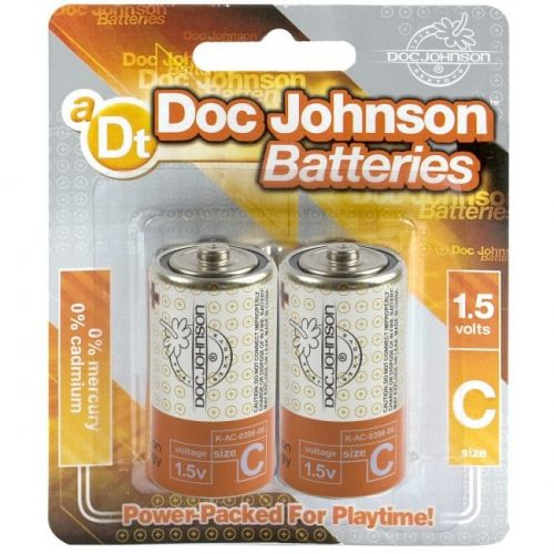 DOC JOHNSON BATTERIES C 2 PACK CD