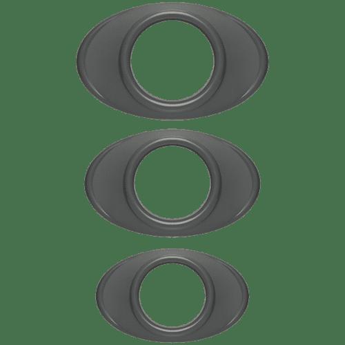 OPTIMALE EASY GRIP C RING SET SLATE