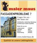Anzeige-Fassadenprobleme