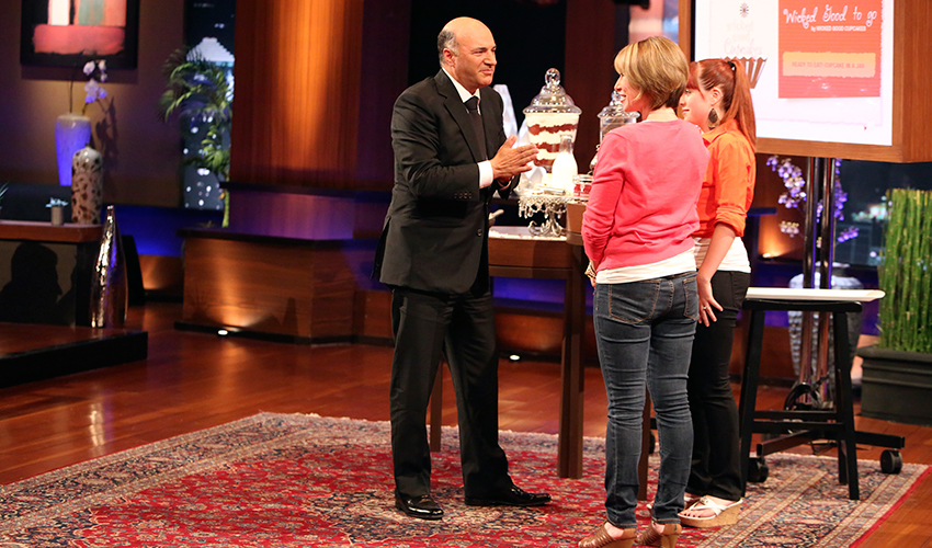 Wicked Good Cucpakes With Shark Tank's Kevin O'Leary