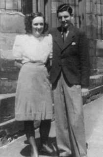 Denise Kirchhoff et son fiancé Jean-Pierre Mengus