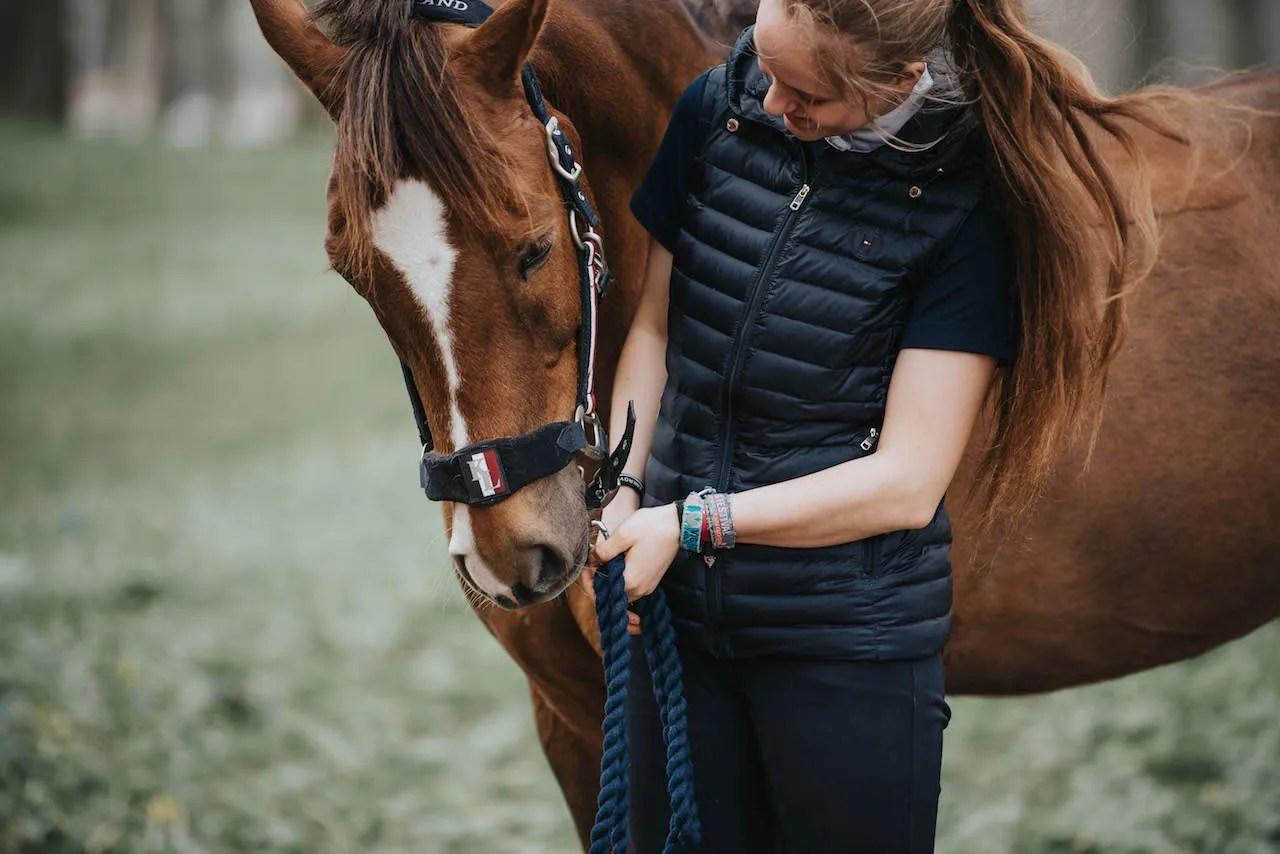 Foto Majken Soelberg, samværet med hesten