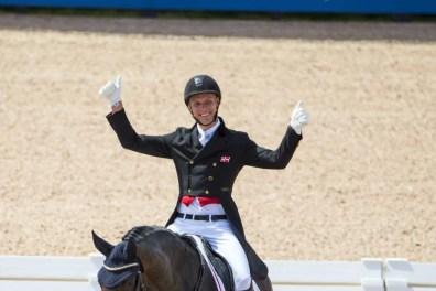 Daniel Bachmann Andersen og Blue Hors Zach til FEI World Equestrian Games.