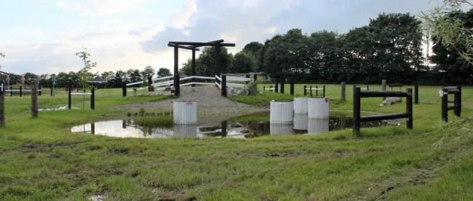 Den nyrenoverede vandforhindring