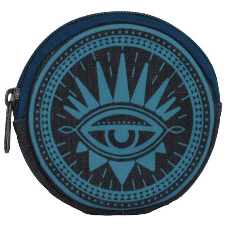 teal coin purse