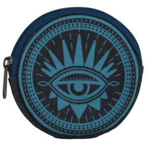 teal coin purse