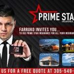 Farruko es el nuevo portavoz de Prime Star Insurance