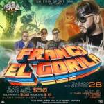 Evento: Franco El Gorila – La Fria Sport Bar (28 Noviembre, 2015)