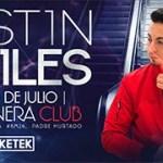 Justin Quiles estará presente en El Costanera Club en Chile