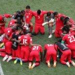 A pesar de la derrota, Selección de Panamá ora y da testimonio