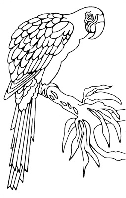 Malibu Ceramic Works Bird Murals