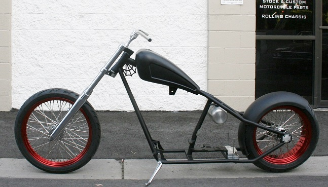 N350 REAL WEST COAST CHOPPERS CFL 3RD GENERATION FRAME 4 UP , 2 OUT ...
