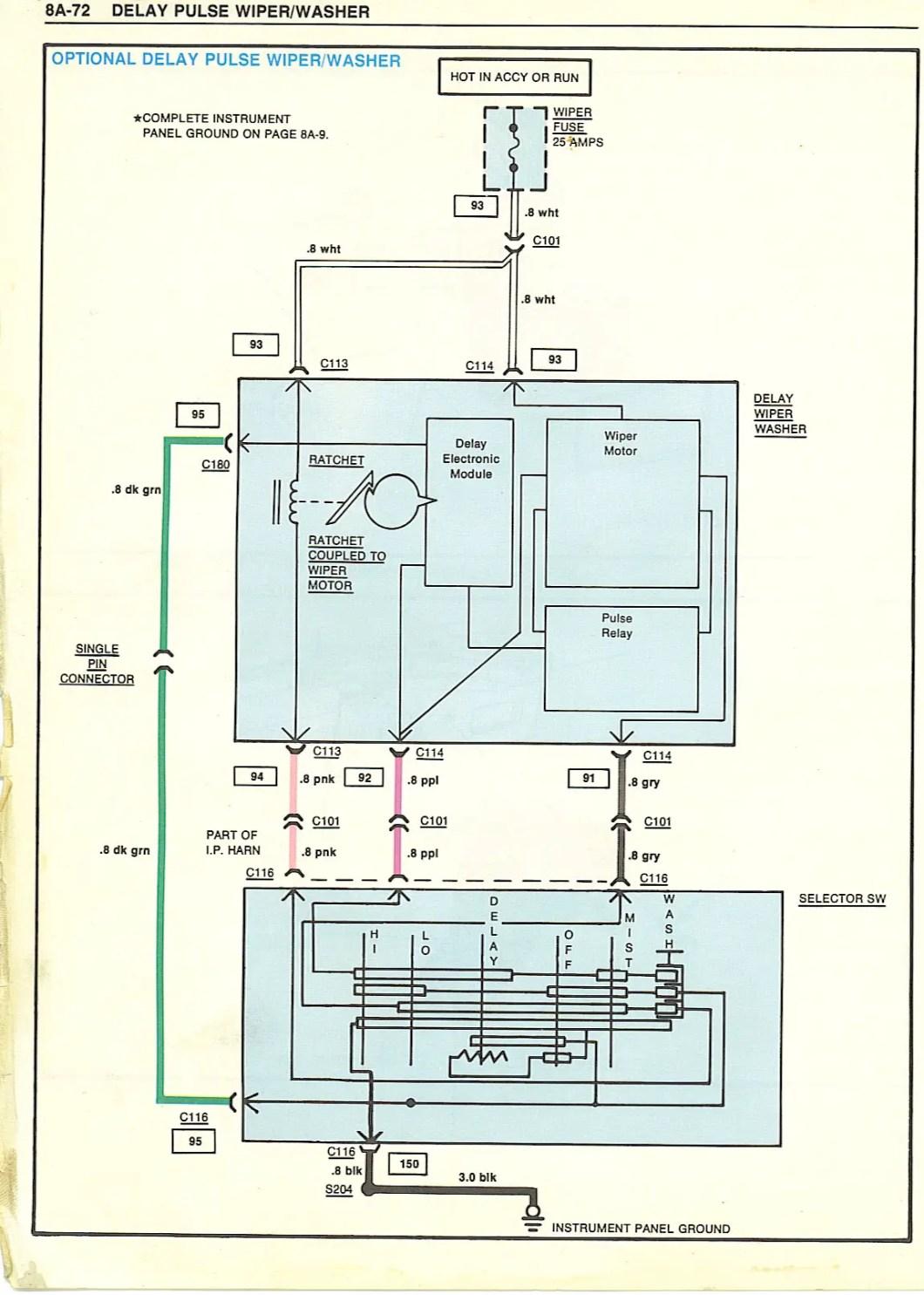 Boat Wiper Motor Wiring Diagram | Newmotorspot.co