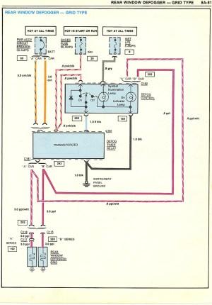 wagon rear defrost | GBodyForum  '78'88 General Motors A