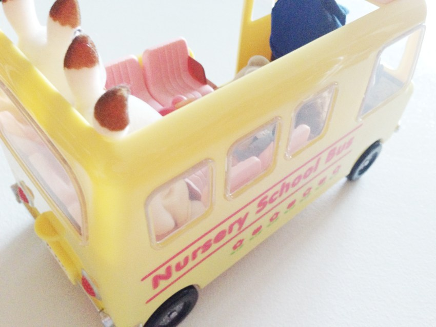 Sylvanian Nursery school bus