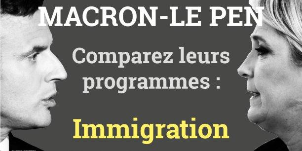 Actualités du Mali - Présidentielle 2017 : que proposent Le Pen et Macron en matière d'immigration ?