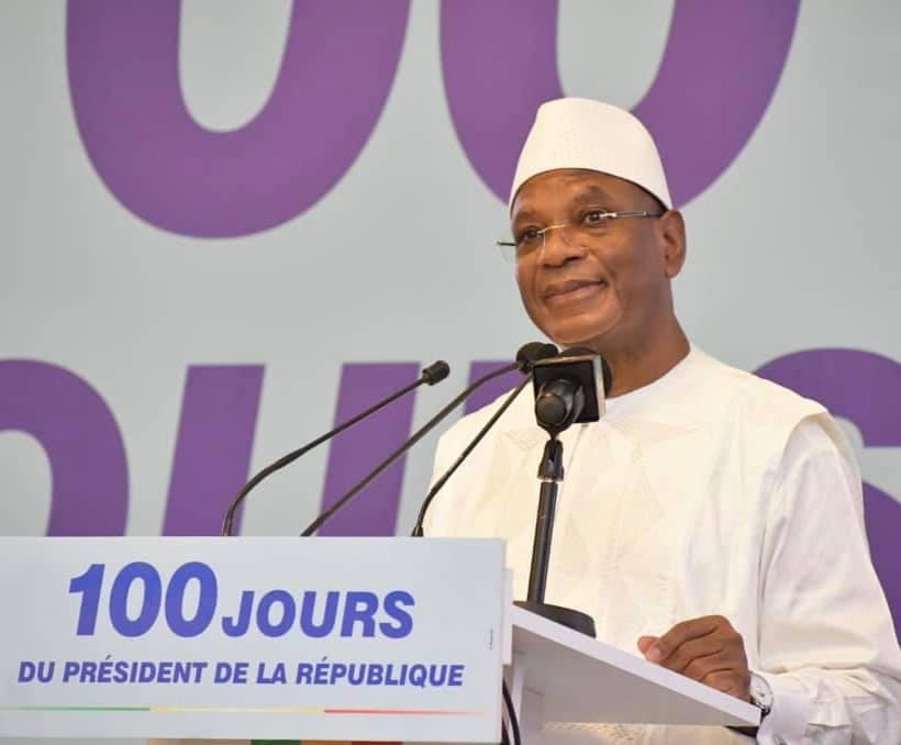 Réponse du Président de la République à la présentation des programmes présentés par le Premier Ministre à l'occasion des 100 jours de son second mandat