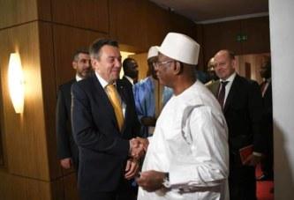 IBK, reçoit le président du CICR : Le Comité International de la Croix Rouge, va élargir ses actions dans le centre du Mali