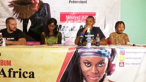 Musique : Awa Mangara sort son premier album intitulé « Mama Africa »