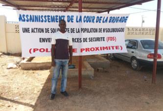 Assainissement : Les jeunes du quartier de N'Golobougou à pied d'œuvre