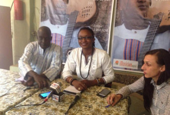 Culture : Adja Fanta Diabaté a présenté son  album intitulé ''SABALI''