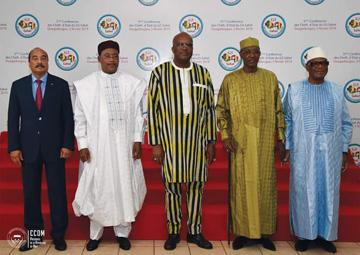 Ouagadougou, 5 février 2019-Ouverture du 5 è Sommet ordinaire de la conférence des Chefs d'Etat
