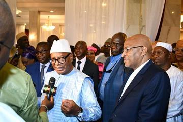 Rencontre IBK-EPM: Le Président de la République réitère son soutien à son Premier ministre