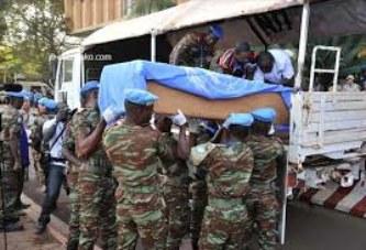 INSECURITE: Trois casques bleus assassinés à Siby