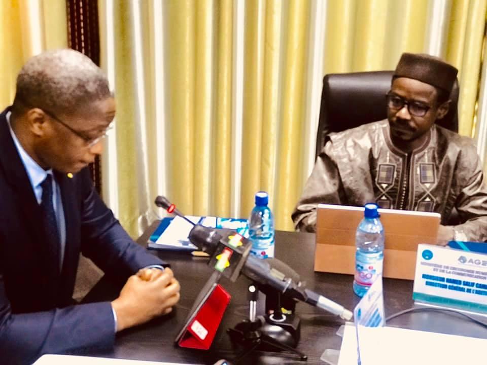 Ministre Arouna Modibo Touré : L'AGETIC s'arme de capacité de résilience face aux multiples difficultés conjoncturelles éprouvantes