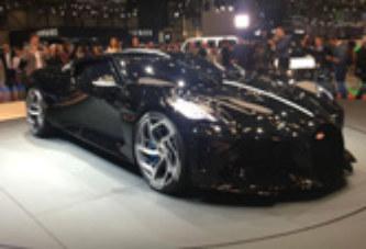 """Bugatti """"La Voiture Noire"""", ou la voiture la plus chère au monde"""