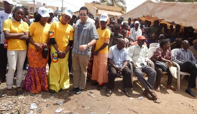 Police des Nations Unies : Entretien autour de la police de proximité avec les habitants de Niamakoro (Bamako)