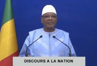 DISCOURS A LA NATION de Son Excellence Monsieur Ibrahim Boubacar KEÏTA Président de la République, Chef de l'Etat