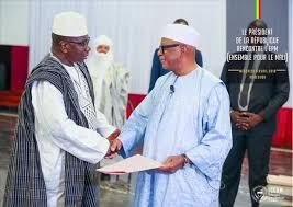 Dialogue inclusif : IBK a rencontré l'Alliance Ensemble pour le Mali