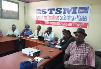 Fête du travail du STSM : Les produits et services de la Sotelma au cœur de l'évènement