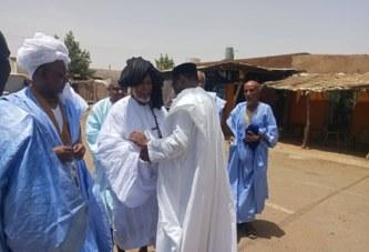 NIORO DU SAHEL : Le ministre Tiebilé Dramé chez  M'Boullé Haidara