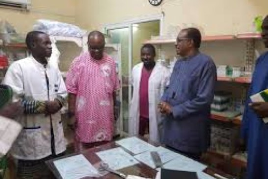 Le ministre de Santé à l'hôpital Gabriel Touré : Le personnel requinqué
