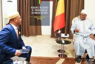 Audience à Koulouba: IBK reçoit l'ambassadeur du Maroc