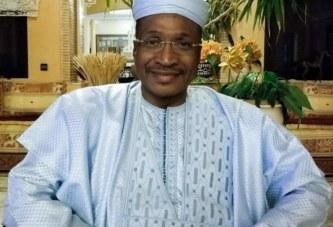 Aliou Boubacar Diallo, président d'honneur de l'ADP-Maliba