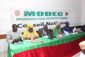 Conseil National du MODEC : Le parti dénonce la mauvaise gouvernance d'IBK et déclare sa participation aux élections législatives