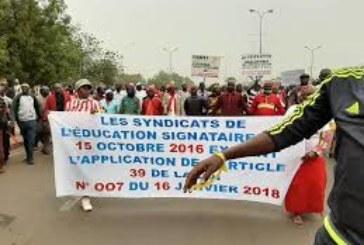 Mali/Front social : deux grands syndicats déposent un préavis de grèves à partir du 17 février prochain