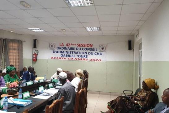 42e du Conseil d'Administration du CHU Gabriel Touré : 120.000 consultations faites en 2019