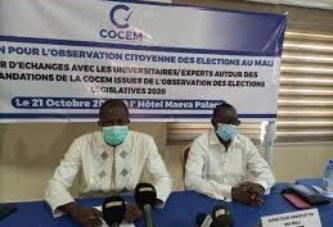 Élections au Mali : La  COCEM s'engage pour l'application des recommandations issues des élections législatives