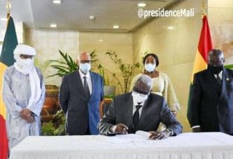 Premier déplacement officiel du président de la Transition