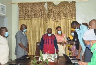 Nouvel an : Cérémonie de présentation de vœux à Habib SISSOKO, Président CNOSM