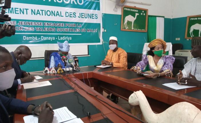 LES EXCLUS DU PRVM-FASOKO : Lors d'un congrès, ont porté leur choix sur Samba Coulibaly