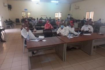 L'hôpital Gabriel Touré : Les candidats du concours d'agrégation au CAMES en formation