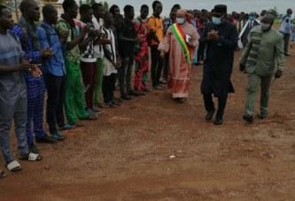 Future bibliothèque universitaire : Le ministre Amadou Keita s'est rendu sur le site