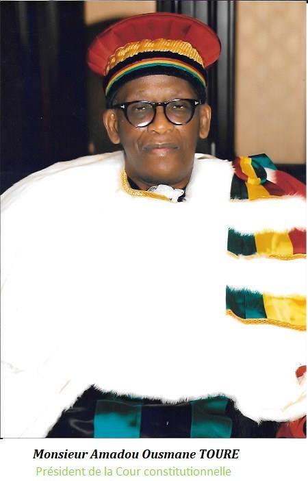 Amadou Ousmane Touré, président de la CC : « … les difficultés politiques actuelles, sont en réalité les résultats tangibles d'une gouvernance publique désastreuse,… »