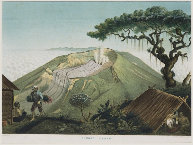 Perjalanan Junghuhn dari Bogor ke Bandung Tahun 1844