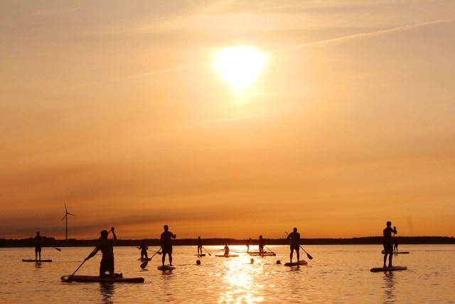 stand up paddle malika surf asd school roma